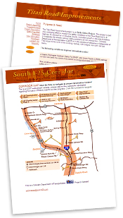 South I-25 Corridor Project Websites - previously www.SouthI25.com